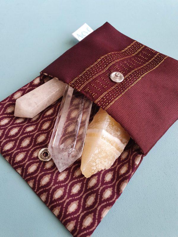 Pochette tissu